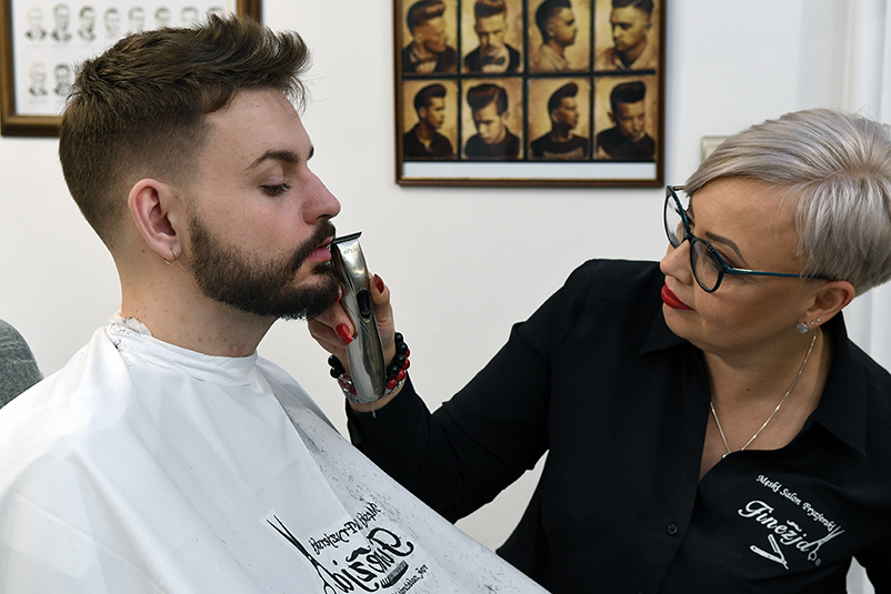 męski fryzjer Wrocław