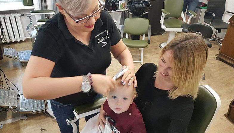 fryzjer dla dzieci